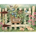 LANG® Boxed Note Cards With Envelopes, Garden Gate