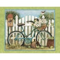 LANG® Boxed Note Cards With Envelopes, Blue Bicycle