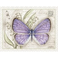 LANG® Boxed Note Cards With Envelopes, Lavender Butterfly