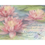 LANG® Boxed Note Cards With Envelopes, Waterlily