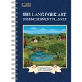 LANG® Lang Folk Art 2015 Monthly Engagement Planner