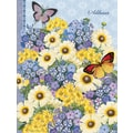 LANG® Botanical Gardens Blue Address Book
