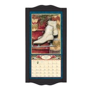 LANG® 8 3/4 x 17 3/4 Vertical Wall Calendar Frame, Small, Black Diamond