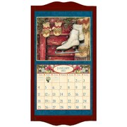 LANG® 14 3/4 x 27 1/2 Wall Calendar Frame, Large, Vintage Red