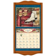 LANG® 14 3/4 x 27 1/2 Wall Calendar Frame, Large, Saddle