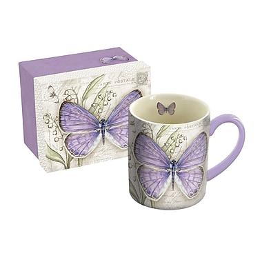 LANG Mug, 14 oz., Lavender Butterfly