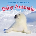 LANG® Avalanche Baby Animals 2015 Desk Boxed Calendar