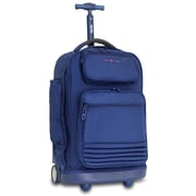 J World Parkway Laptop Rolling Backpack; Navy