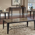 Bernards 3 Piece Coffee Table Set