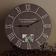 Forest Creations 22'' Picture Frame Table Clock; Celery
