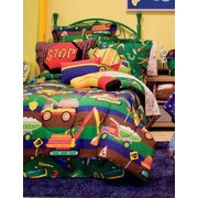 Royale Linens Tyler's Toy Chest Bed in a Bag Set; Twin