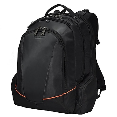 Everki Nylon Flight Checkpoint Friendly Laptop Backpack, Fits up to 16in.