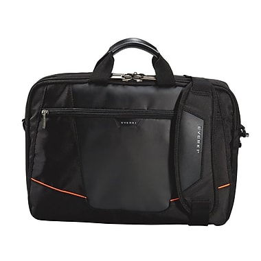 Everki Leather Exterior Flight Checkpoint Friendly Laptop Bag/Briefcase 16