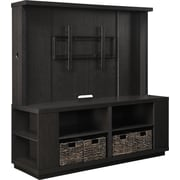 Altra™ Dylna Home Entertainment Center With Gaming Storage and 4-Baskets For Up to 60 TVs, Espresso
