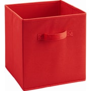 Ameriwood™ Fabric Storage Bin For 6 and 9 Cube Storage Units, Red