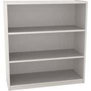 Ameriwood™ Particle Board 3-Shelf Bookcase, White Stipple