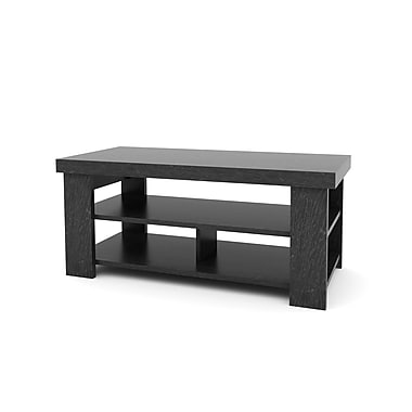 Ameriwood Medium Density Fiberboard Coffee Table, Black, Each (5187026PCOM)