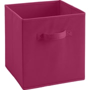 Ameriwood™ Fabric Storage Bin For 6 and 9 Cube Storage Units, Pink