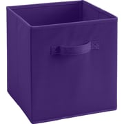 Ameriwood™ Fabric Storage Bin For 6 and 9 Cube Storage Units, Purple