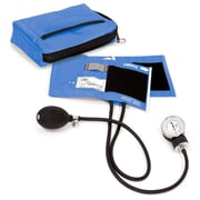 Prestige Medical® Premium Aneroid Sphygmomanometer With Carrying Case, Ciel Blue, Adult