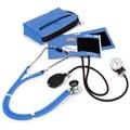 Prestige Medical® Aneroid Sphygmomanometer/Sprague Rappaport Stethoscope Combination Kit, Ceil Blue