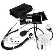 Prestige Medical® Sprague-Rappaport/Aneroid Sphygmomanometer Nurse Kit, Black, Adult