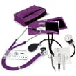 Prestige Medical® Sprague-Rappaport/Aneroid Sphygmomanometer Nurse Kit, Purple, Adult