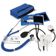 Prestige Medical® Sprague-Rappaport/Aneroid Sphygmomanometer Nurse Kit, Royal, Adult
