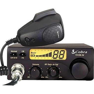 Cobra 40-Channel Compact CB Radio (19DXIV)