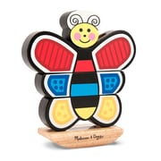 Melissa & Doug Wood Butterfly Stacker