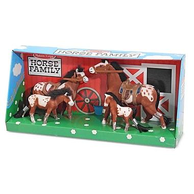 Melissa & Doug Velvet Horse Family