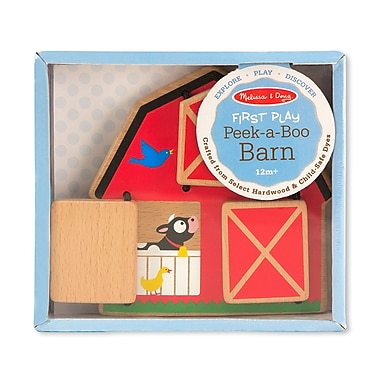 Melissa & Doug Wood Peek-a-Boo 7