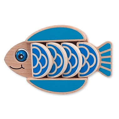 Melissa & Doug Wood Flapping Fish