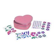 Melissa & Doug Peel & Press Sticker by Number with Sweetheart Treasure Box