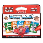 "Melissa & Doug Sturdy Alphabet Splash Cards 9"" x 8"""