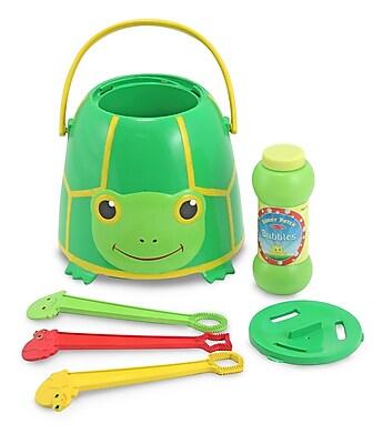 Melissa & Doug Sunny Patch Tootle Turtle Bubble Bucket 1031735