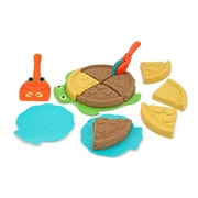 Melissa & Doug Sturdy Plastic Sunny Patch Seaside Sidekicks Sand Pizza Set
