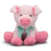 Melissa & Doug Princess Soft Toys Meadow Medley Piggy Polyester Fabric