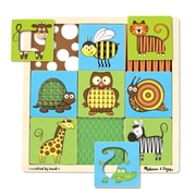 Melissa & Doug Peek Through Animals Puzzle