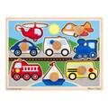 Melissa & Doug Wooden Vehicles Jumbo Knob Puzzle