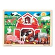 Melissa & Doug Wooden Barnyard Jigsaw 24 Pieces