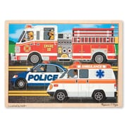 Melissa & Doug Sturdy Wooden To The Rescue