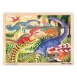 Melissa & Doug Sturdy Wooden Dinosaur Jigsaw Puzzle