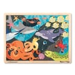 Melissa & Doug Wooden Under the Sea Wooden Jigsaw Puzzle   24 Pieces