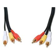 Comprehensive Standard Series 600'' General Purpose 3 RCA Video Cable