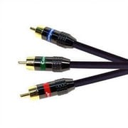 Comprehensive XHD Double Shielded Component Video Cable; 12'