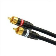 Comprehensive XHD Stereo RCA Analog Audio Cable; 12'