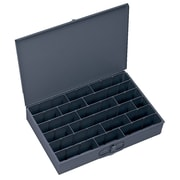 Durham Manufacturing Primed Colled Rolled Steel Large Adjustable Compartment Box