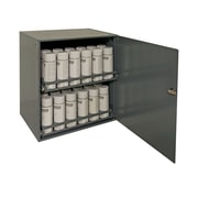 Durham Manufacturing Prime Cold 21.88'' H x 20.31'' W x 15.94'' D Rolled Aerosol Storage Cabinet