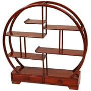 Oriental Furniture Mingei Display Stand; Honey